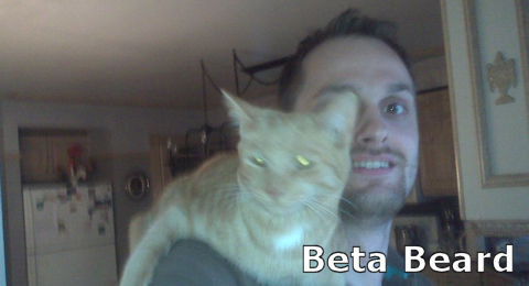 Beta beard after 3 days